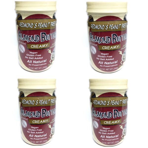 4 Pack of 12 oz. Creamy Jars