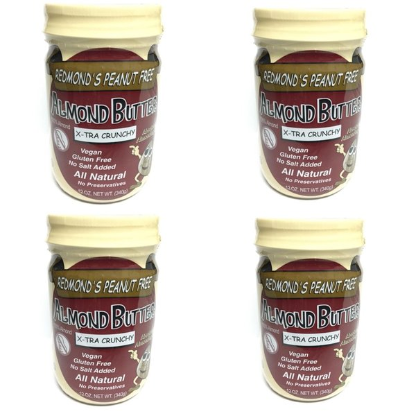 4 Pack of 12 oz. X-Tra Crunchy Jars